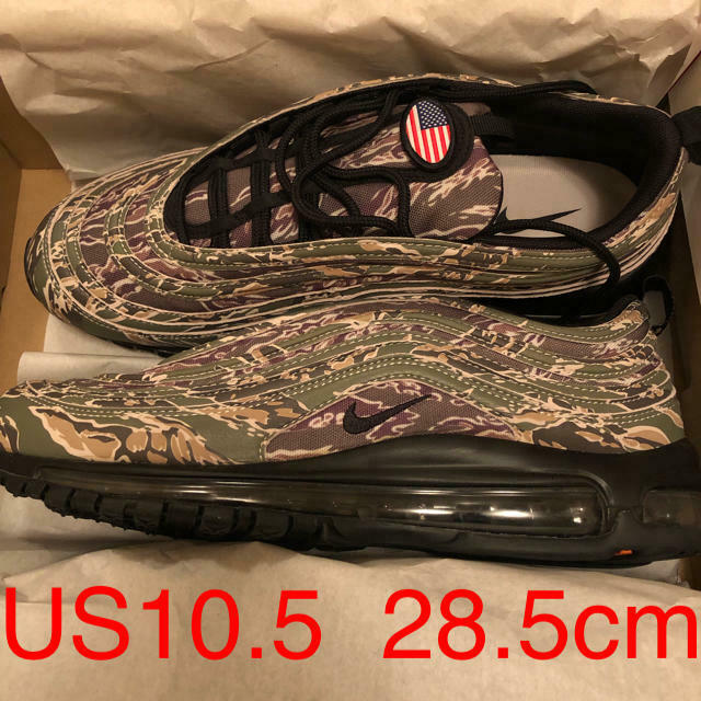 Nike Air Max 97 Camo Pack Usa Usa Usa Duck 28.5Cm Hombres 10.5US  descuento online