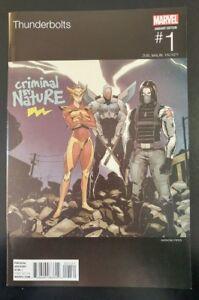 THUNDERBOLTS-1-Hip-Hop-variant-2015-MARVEL-Comics-VF-NM-Book