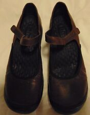 Women's Clark Privo Mules Mary Jane Size 7.5 M Brown Shoe's Flats & Oxfords