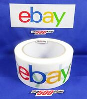 Ebay Branded Shipping Packaging Tape - 1 Roll 2 X 75 Yards Per Roll