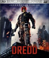 Dredd [3D Blu-ray/Blu-ray + Digital Copy + UltraViolet] Movie, Factory Sealed