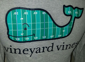 Vineyard-Vines-Mens-Long-Sleeve-Whale-Pocket-T-Shirt-XS-Gray