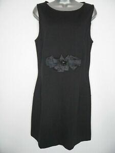 LIU-JO-Designer-Black-Dress-Size-UK14-IT46-A-Line-Occasion