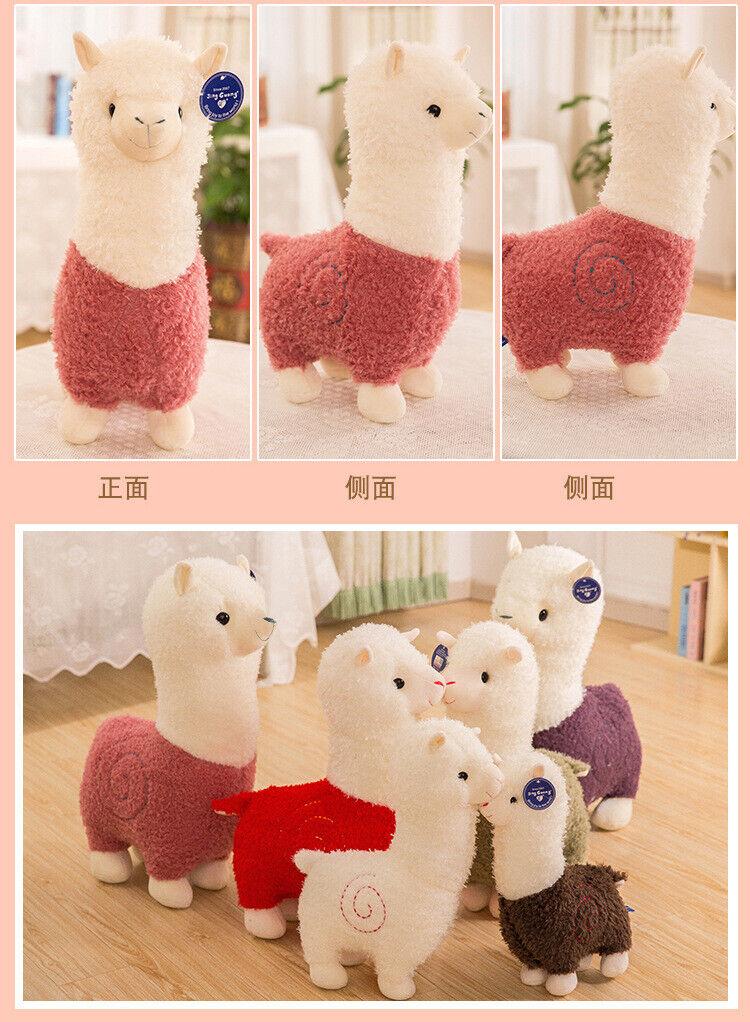 65CM Big plush alpaca Cute Giant Large Stuffed Soft Plush Toy Doll Pillow gift
