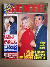 GENTE n°43 1995 Valeria Marini Maria Teresa Ruta Brooke Shields [G740]