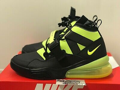 the latest 4a93f a8f00 New Nike Air Max 270 Force Utility AQ0572 001 Black Volt 720 2018 97 Mens  Size | eBay