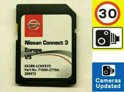 Carte SD GPS Nissan Connect 3 Europe V5.