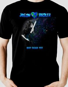 Jason-Becker-GUITAR-KISS-MAGIC-Music-T-Shirt-MEN-Black