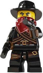 Mini Figure Bandit Mini Fig Collection Series 6 LEGO 8827