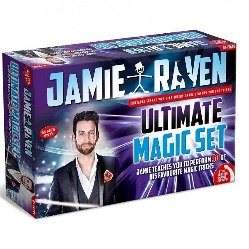 Jamie Raven Ultimate Deluxe Edition Magic Set - Paul Lamond Gift 2018 2019