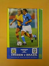 UMBRO Cup - Sweden v Brazil - 4th June 1995