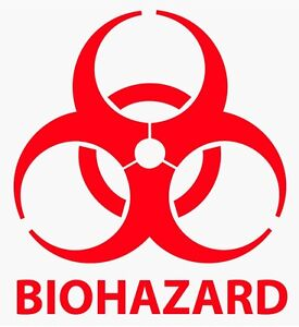 2-034-24-034-BIOHAZARD-WARNING-Decal-Vinyl-Sticker-Logo-amp-Label-Pick-SIZE-amp-COLOR