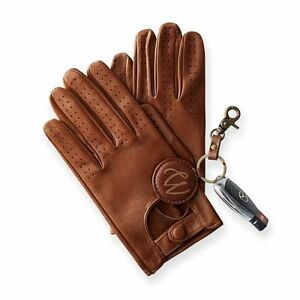 MENS-CLASSIC-DRIVING-GLOVES-SOFT-GENUINE-REAL-LAMBSKIN-LEATHER-DARK-BROWN