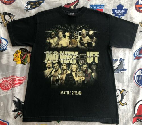 No Way Out 2009 T-Shirt Large WWE/WWF/ECW Wrestlin
