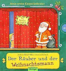 Mein-erstes-Kasperletheater-Der-Raeuber-und-der-Weihnac-Buch-Zustand-gut
