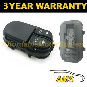 Brand New Ford Focus 1998-2005 Window Main Control Switch for LHD 2 Doors