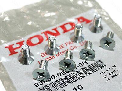 8 x Genuine OEM Honda Acura Disc Brake Retaining Rotor Screws 8 pcs