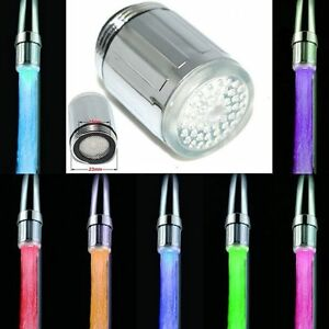 Novelty-LED-Water-Faucet-Stream-Light-7-Colors-Changing-Shower-Tap-Kitchen-TaKCM