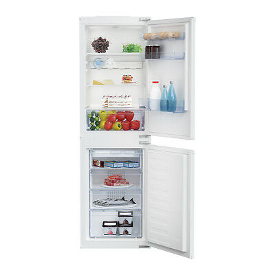 BEKO BCFD150 Integrated Frost Free Fridge Freezer With Wine Rack White