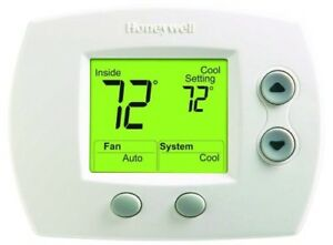 Honeywell-Non-Programmable-Thermostat-1-Heat-1-Cool-Room-Temperature-Control