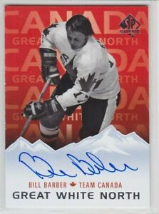 2017-18-UD-SP-AUTHENTIC-BILL-BARBER-AUTO-GREAT-WHITE-NORTH-AUTOGRAPH-Flye-Canada