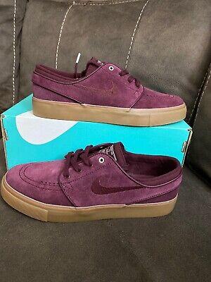 Nike Zoom Stefan Janoski Sneakers Maroon/Gum Women's Shoe Size 7.5 AH4233-600 | eBay