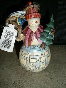 NEW 2009 Hardwood Creek Jim Shore Christmas Ornament ...
