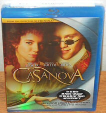 Casanova (Blu-ray Disc, 2006) Heath Ledger, Sienna Miller, Jeremy Irons - NEW