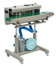 Dbf 1000 Inflating Horizontal Continuous Band Sealer With Stand New 110v