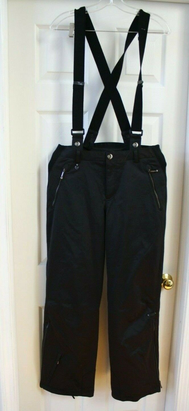 NEW SPYDER WARM INSULATED SKI SNOWBOARD PANTS  BIBS SIZE 8 M INSULATED MSRP 240  will make you satisfied
