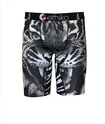 2019 Fashion Black Tiger Ethika Mens Underwear Sports Shorts Boxer Pants Us Size L Providing Amenities For The People; Making Life Easier For The Population
