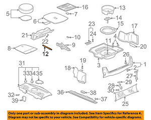 GM OEM Interior-Rear-Wrench 13503936