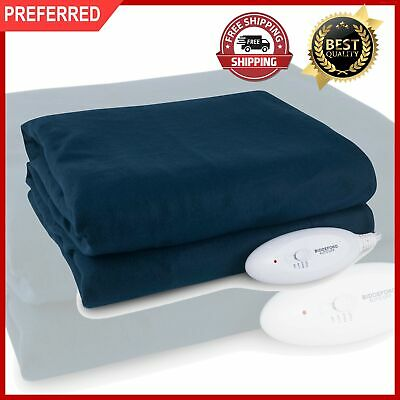 Electric Heated Throw Blanket 62x50 Warming Knit Washable Soft Heat Fleece New