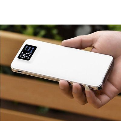 Power Bank 20000mAh Digital Banco de Energía Portable Batería Externa doble USB