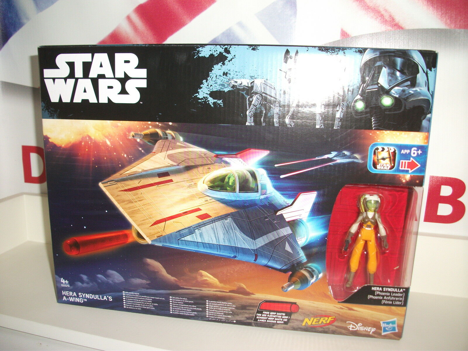 Star wars rebels   clone wars A-wing Star fighter fighter fighter + Hera syndulla c35964