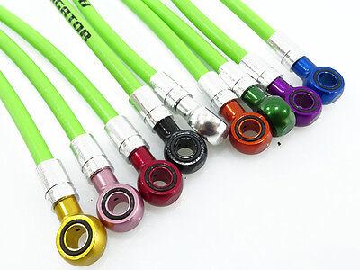 colored banjo ends *set* Magura MT-series white disc brake hose w