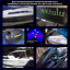 2x 100mm PWC,jetski,sea doo REGISTRATION numbers letters sticker decals 2 colour