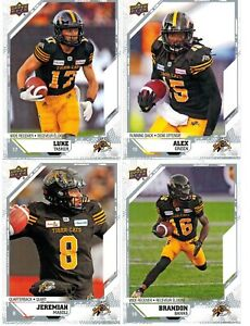 2019-Upper-Deck-CFL-Base-Card-Pick-from-List-to-Complete-Set-Collection