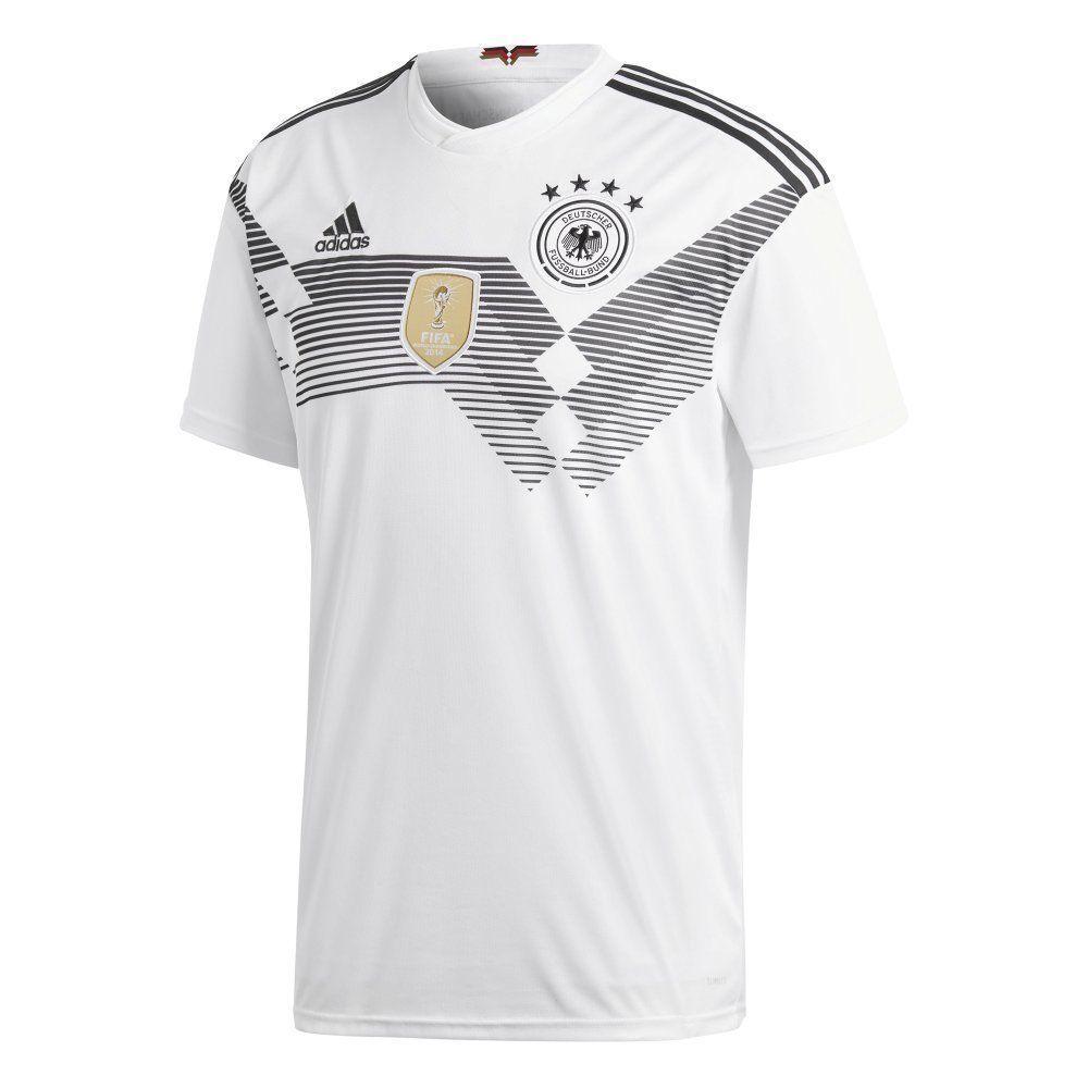 Adidas DFB Deutschland Fußball Herren Trikot Home WM 2018 Heimtrikot weiß    Sonderpreis