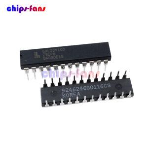 10PCS-Electronic-Component-LATTICE-IC-GAL22V10D-15LP-GAL22V10D-DIP-24