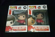 Big Bang Theory Raj Koothrappali and Howard Wolowitz Star Trek Funko Pop Vinyl