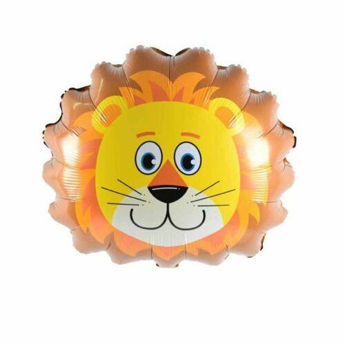 """26/"""" Giant Safari Helium Balloons Jungle Birthday Party Lion Tiger Zebra Monkey"""