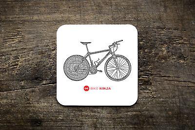 Fornito Retro Classics 1992 Specializzati M2 Ned Overend Coaster-bike Ninja Mtb-