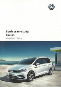 VW-TOURAN-2-Betriebsanleitung-2016-2017-Bedienungsanleitung-Handbuch-BA