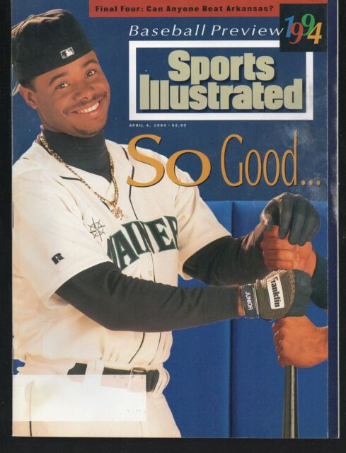 Sports Illustrated 1994 Ken Griffey Jr / Mike Piazza  Hall of Fame Blank Label