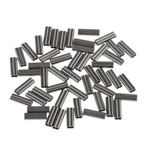 Hi-Seas AL leader sleeves crimps 0.7 mm 40-50lb up to 0.6mm diameter 500 pc sz K