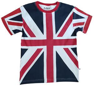 Enfants Union Jack T Shirt