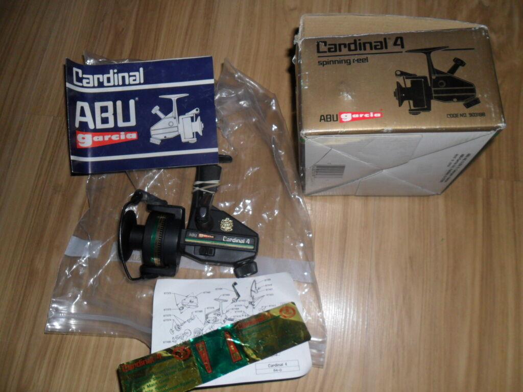Abu Cardinal C4  BOXED JAPAN  counter genuine