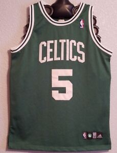 reputable site f9a14 b12c9 Details about NBA - AUTHENTIC ADIDAS BOSTON CELTICS BASKETBALL JERSEY KEVIN  GARNETT - MENS 50