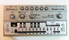 Roland TB303 TB-303 Bass Line Vintage Analogue Drum Synth Sequencer 808 909